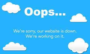 website problemen