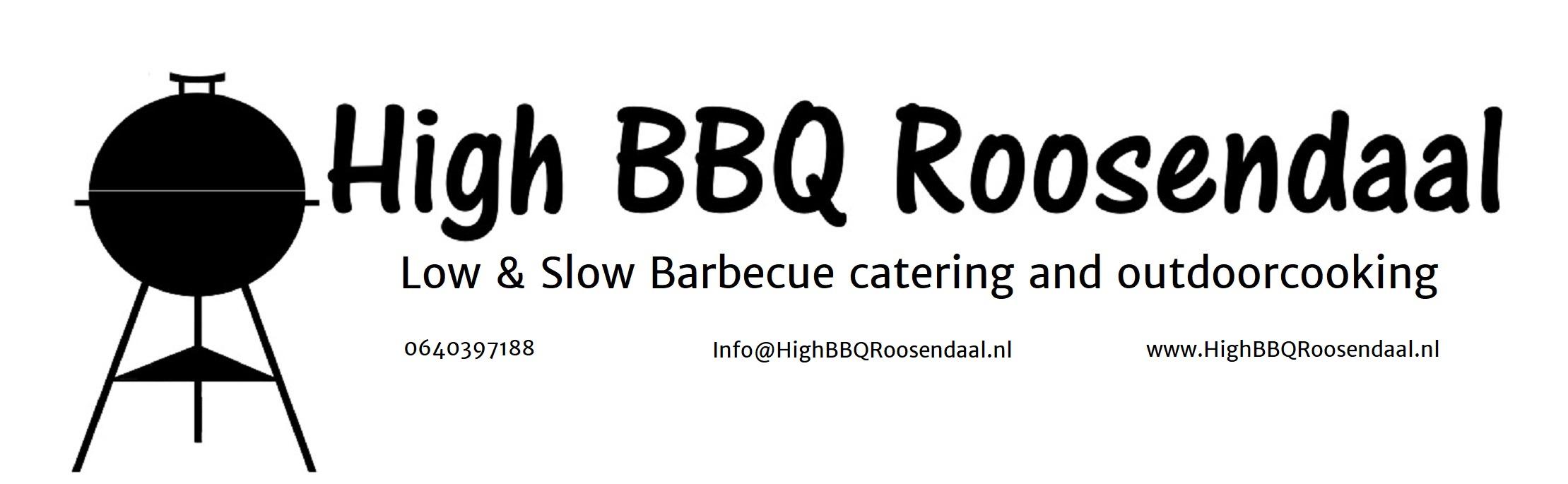 logo High BBQ Roosendaal-lang